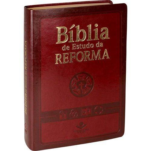 Bíblia de estudo da Reforma - RA