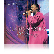 CD - Elaine Martins - Muda-me - Ao vivo