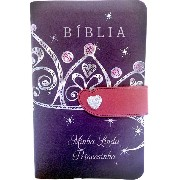 Bíblia Minha Linda Princesinha  (Couro sintético) NTLH