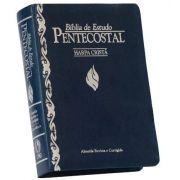 Bíblia de Estudo Pentecostal com harpa - Tamanho Pequeno