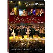 DVD - Ministerio Canticos Vocal - Jerusalem