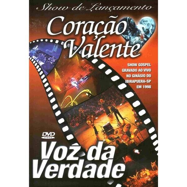 DVD - Voz da Verdade - Coração Valente