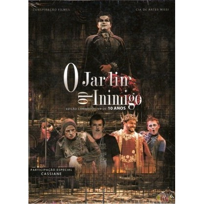 DVD - Teatro - Jeová Nissi - O Jardim do Inimigo