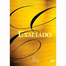 DVD - Diante do Trono - Exaltado