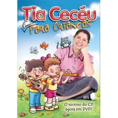 DVD - Tia Cecéu Canta Para Crianças