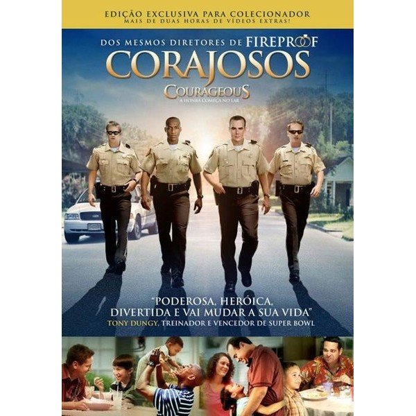 DVD - Corajosos - Filme