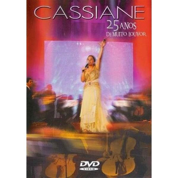 DVD - Cassiane - 25 Anos de Muito Louvor