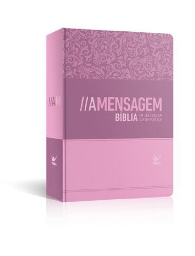 BIBLIA A MENSAGEM SEMI-LUXO MEDIA