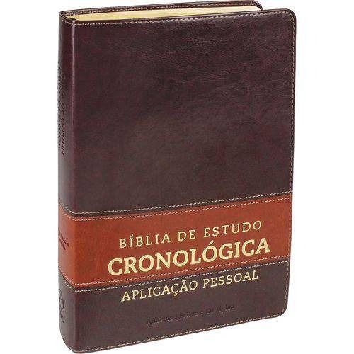 Bíblia de Estudo Cronológica Aplicação Pessoal Luxo
