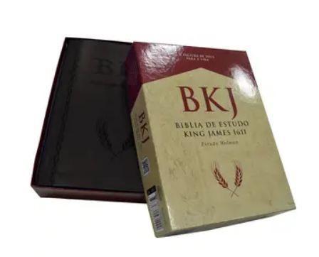 Bíblia de Estudo King James Fiel 1611