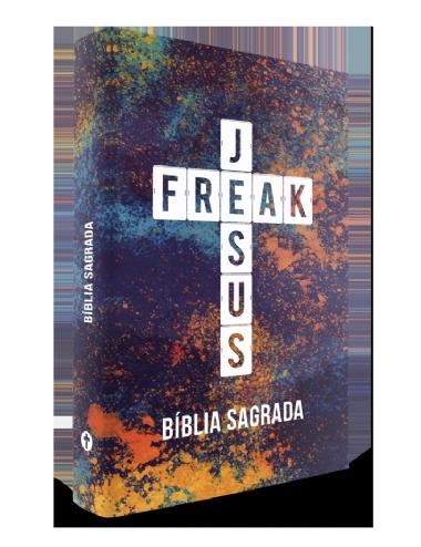 Bíblia Sagrada - Jesus Freak - Capa Dura
