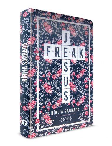 Bíblia Sagrada - Jesus Freak - Capa Luxo Flexível