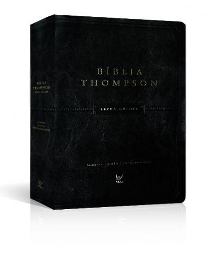 BIBLIA THOMPSON LETRA GRANDE ALMEIDA CONTEMPORANEA