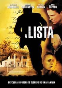 DVD - A lista - Filme
