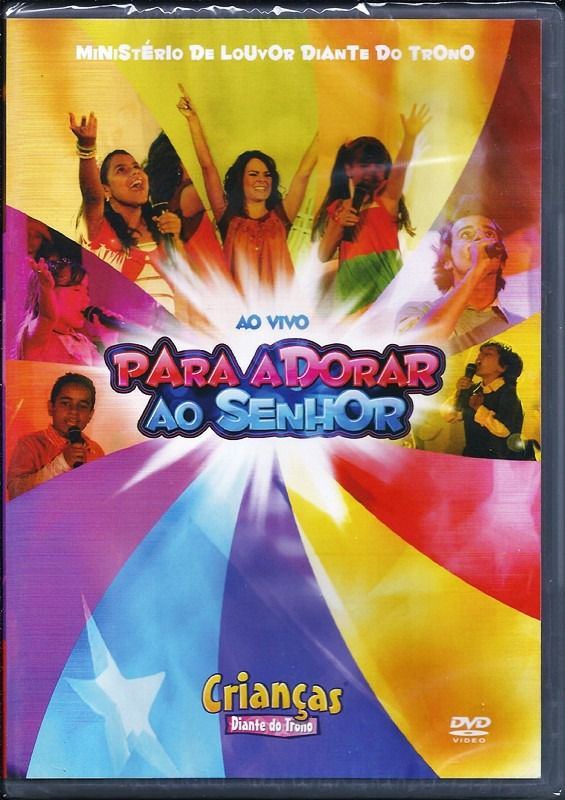DVD - Crianças Diante do Trono - Para Adorar ao Senhor(Ao Vivo)
