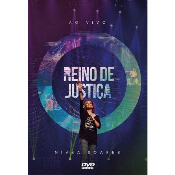 DVD - Nivea Soares - Reino de Justica