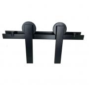 Kit porta de Correr STANFER Alumina - Black, Polido, Escovado