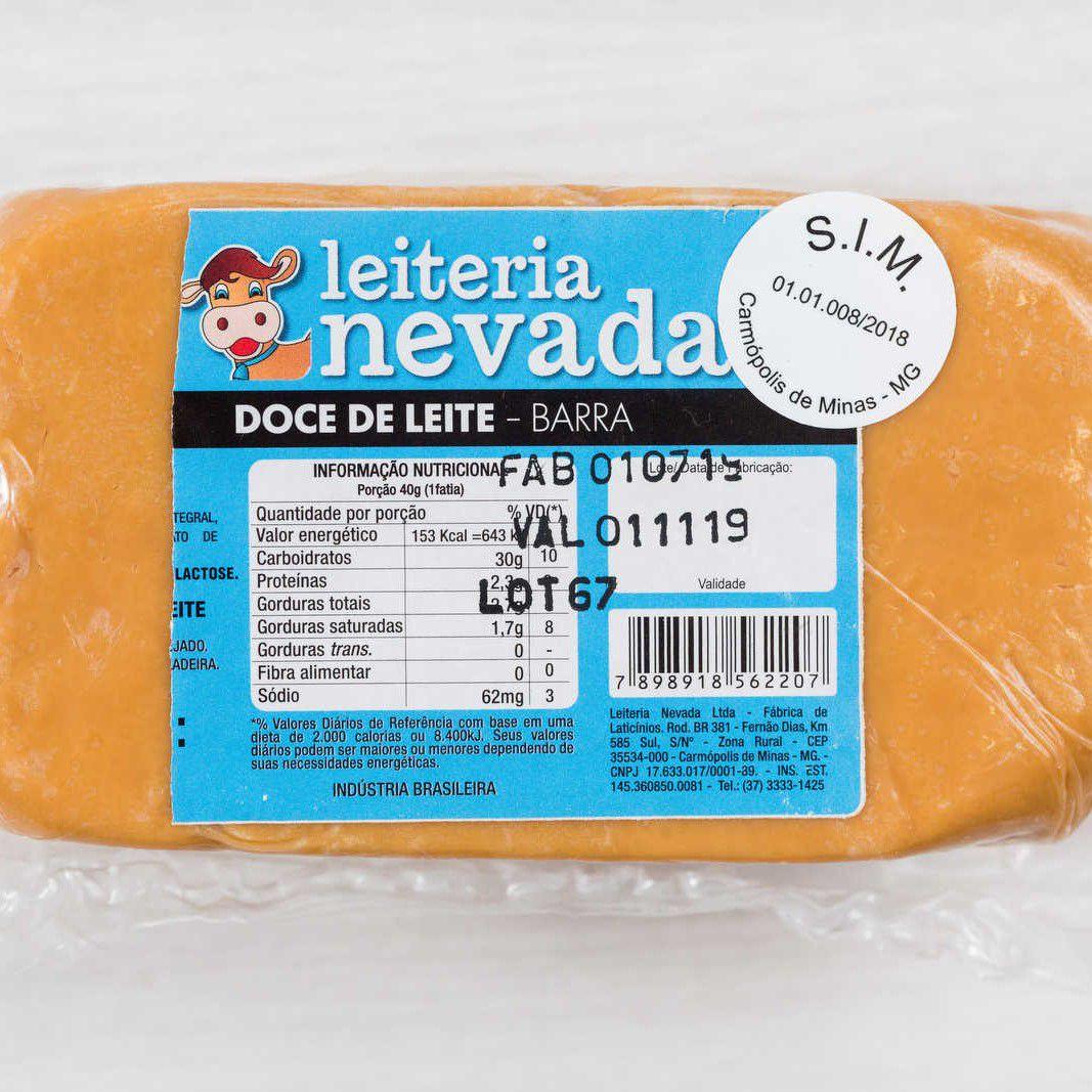NEVADA - DOCE DE LEITE