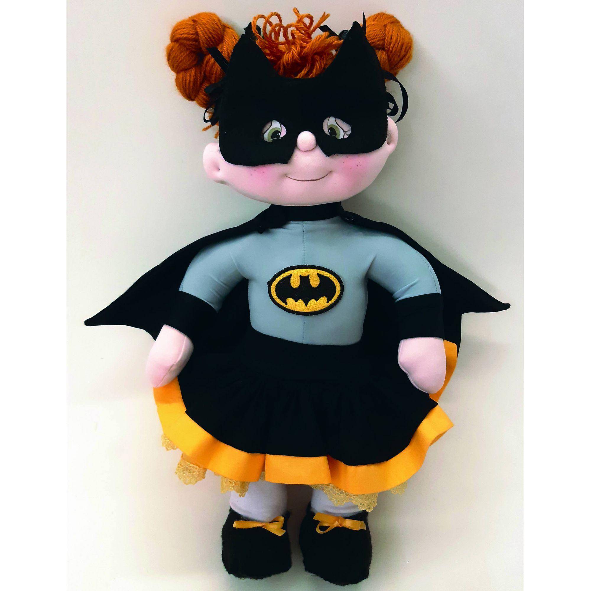 Projeto Bebê Modelada Batgirl