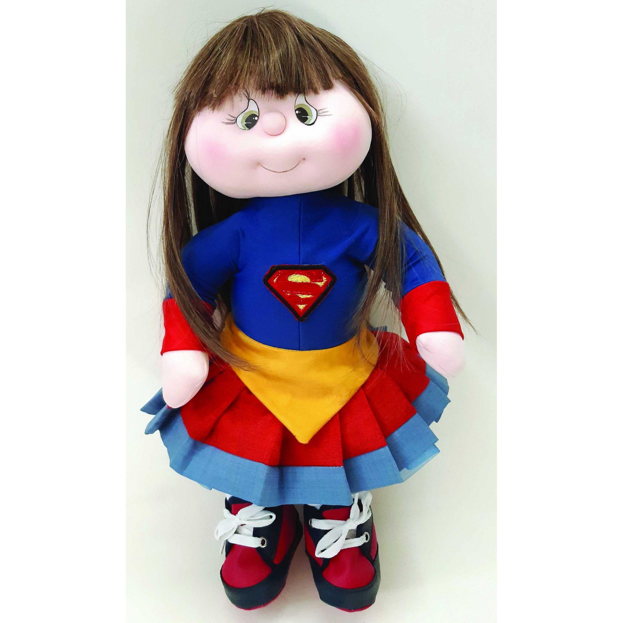 Projeto Bebê Modelada Super Girl