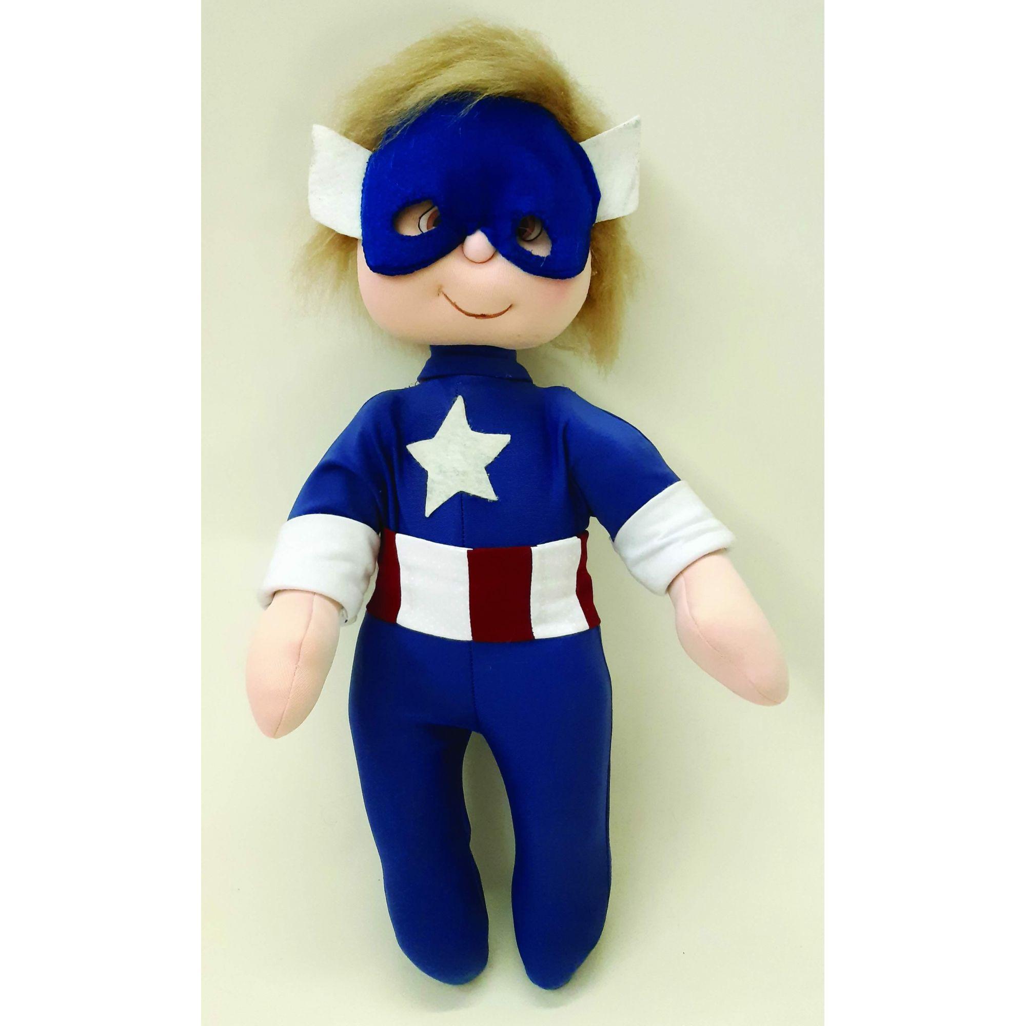Projeto Bebê Modelado Capitão América