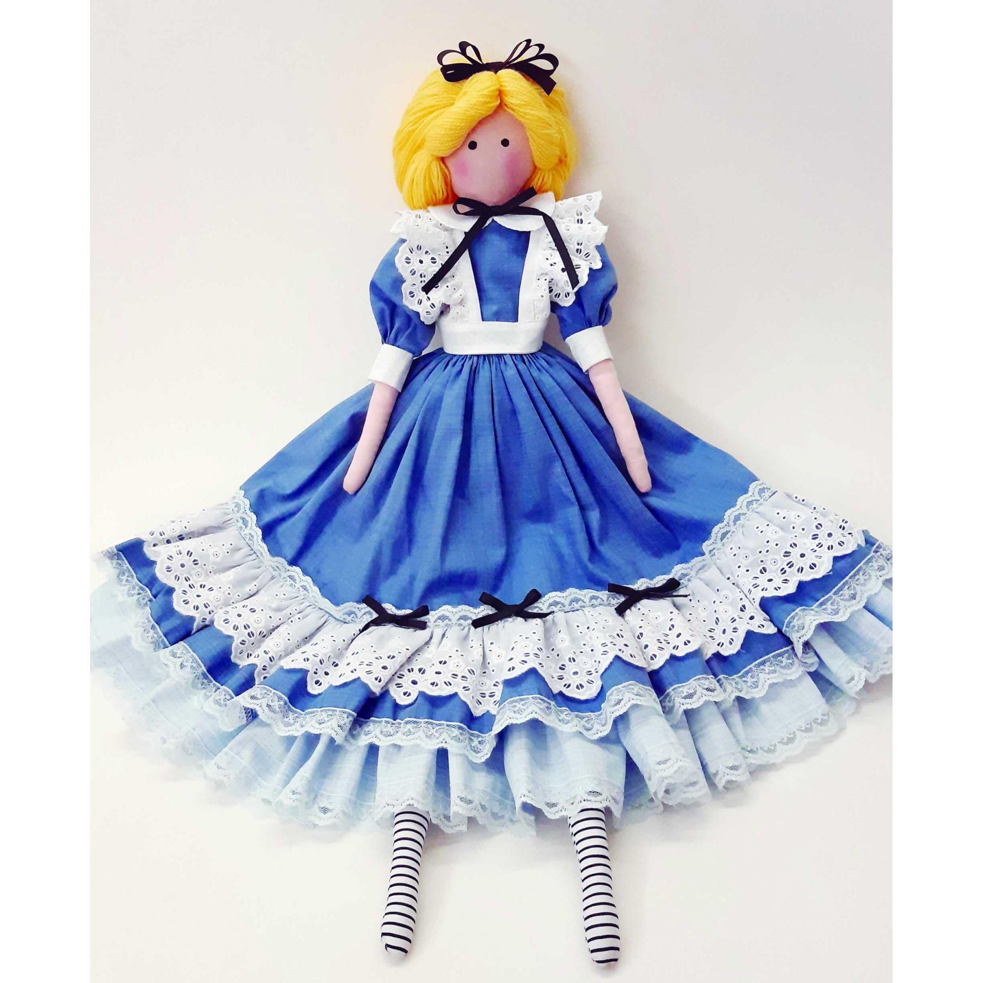 Projeto Boneca Alice - Tilda