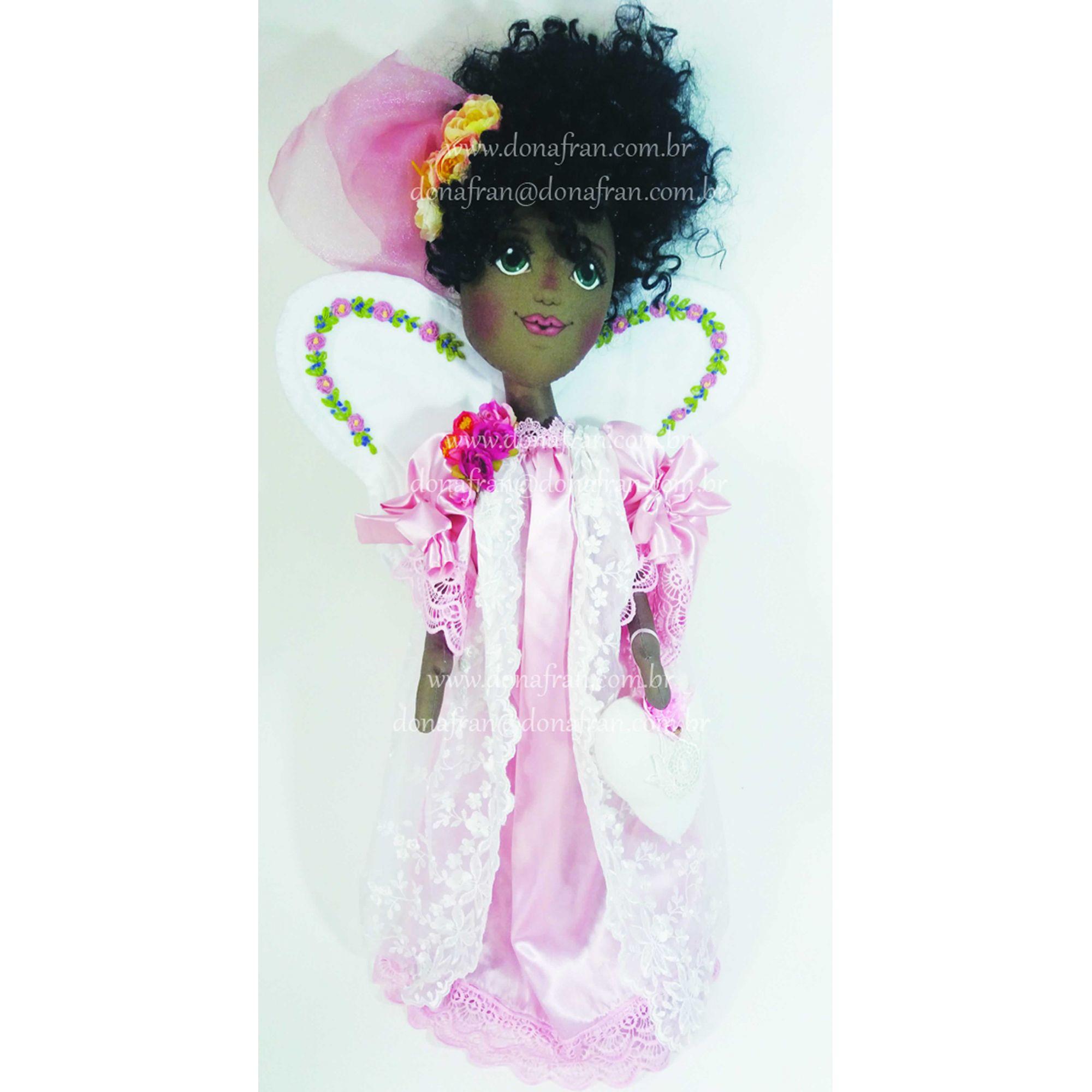 Projeto Boneca Anja Iris