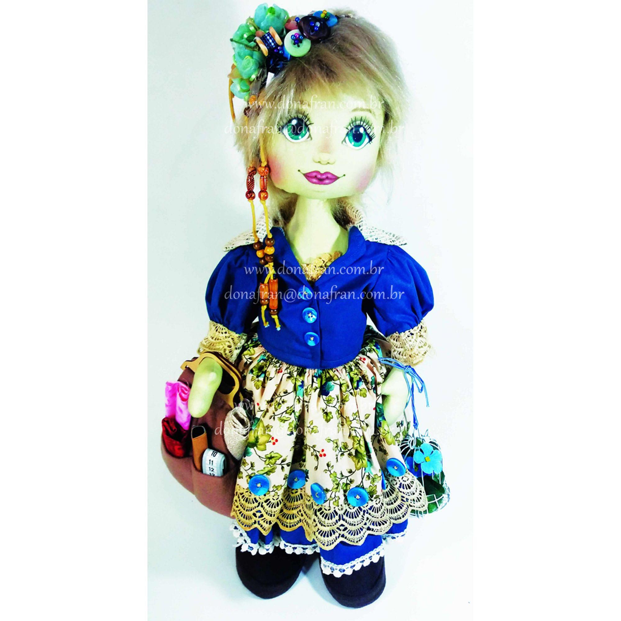 Projeto Boneca Costureira Charlote