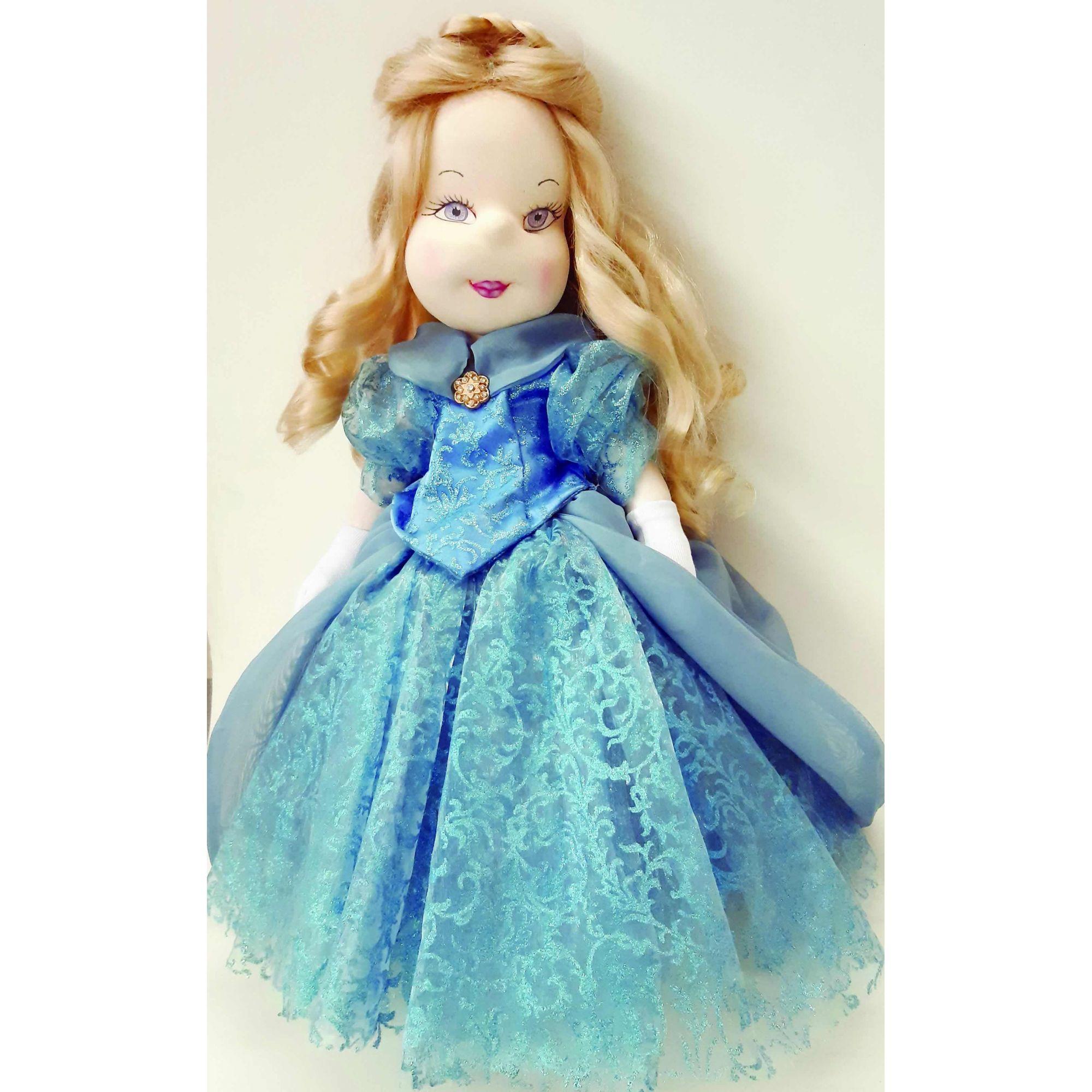 Projeto Boneca Modelada Cinderela