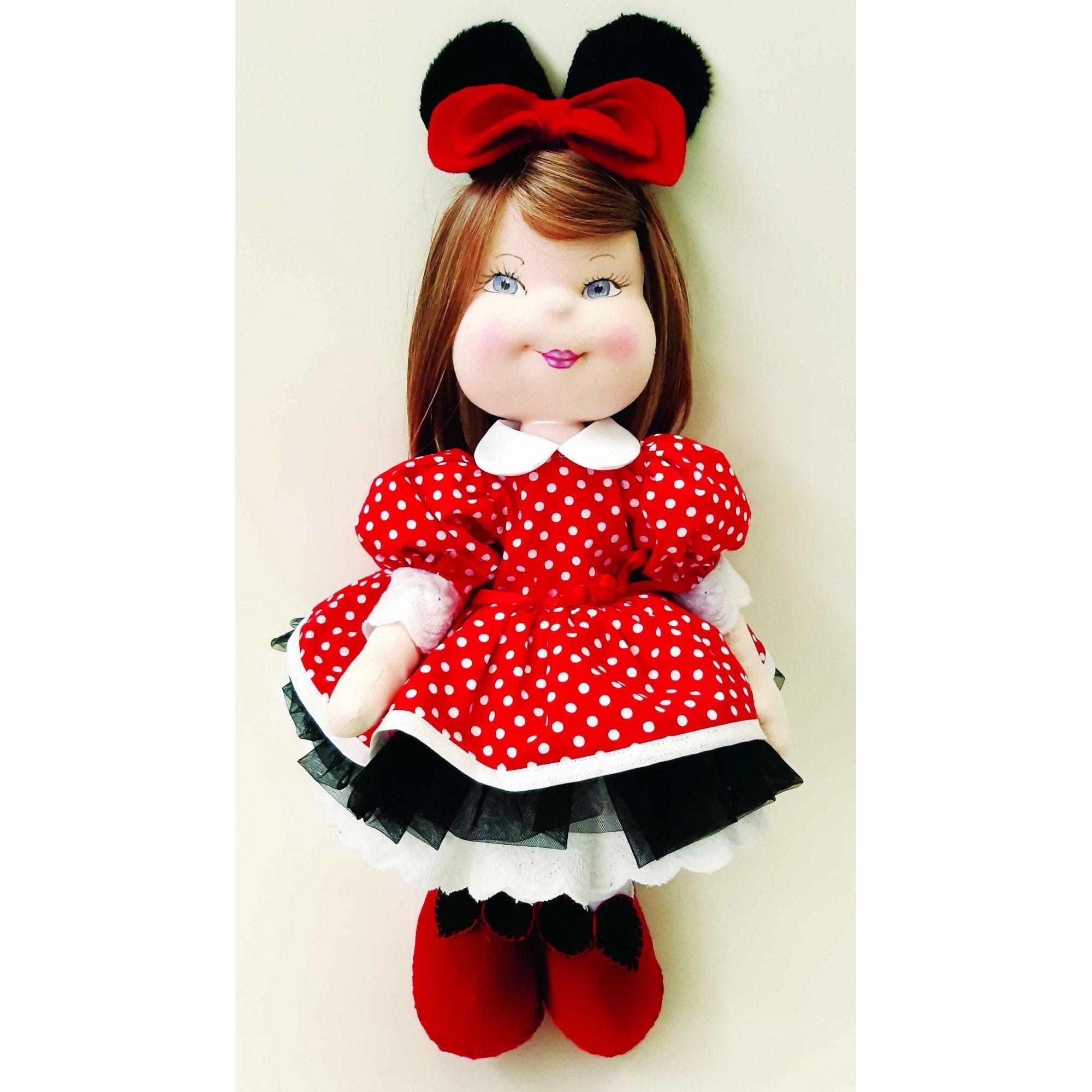 Projeto Boneca Modelada Minie