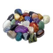 1kg De Pedra Rolada Mista E Sortida Com Tamanho 0,5cm A 5cm