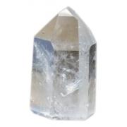 Ponta Obelisco Pedra Cristal Quartzo Transparente Natural