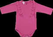 Body Feminino Pink com Babado TPZ KIDS