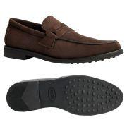 Sapato Masculino Mocassim Penny Loafer em Camurça 111MBCAMCAF