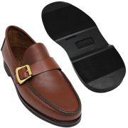 Sapato Masculino Mocassim Sola de Borracha 066FBPIN