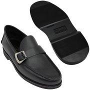 Sapato Masculino Mocassim Sola de Borracha 066FBPRE