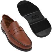 Sapato Masculino Mocassim Sola de Borracha 066MPJPIN