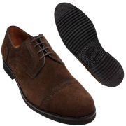 Sapato Masculino Oxford Captoe em Camurção 302CAMCAF Ignácio