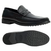 Sapato Masculino Penny Loafer Preto Sola de Borracha 111MB570PRE