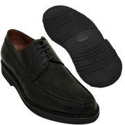 Sapato Masculino Preto Oxford Derby Sola Leve 214/900GRPRE