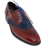 Sapato Oxford Brogue 2 Cores 301WALKERMOG