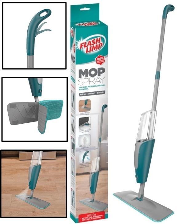 Mop Spray Rodo Limpeza Flash Limp