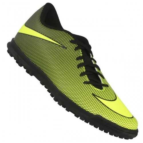 8dcec60075401 Chuteira Nike Socitey Bravata Ii Tf 844437 Original + Nf