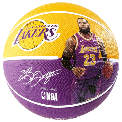 4b39c51b61 Bola de Basquete Spalding NBA Lebron James Lakers