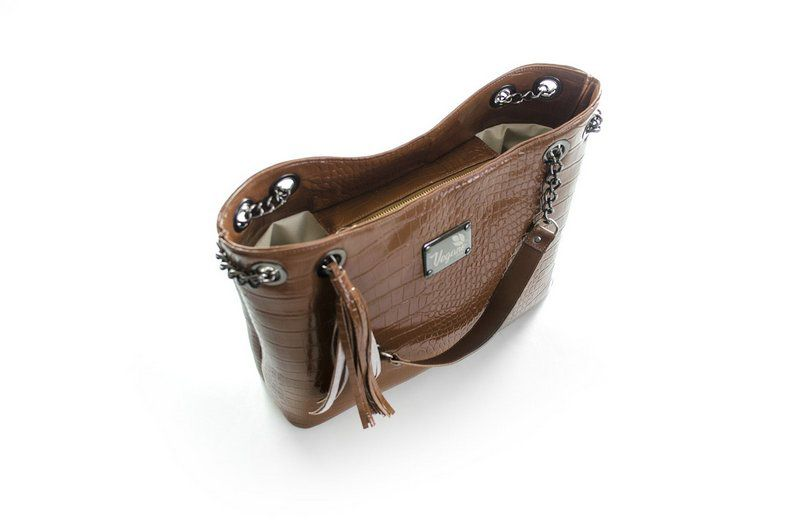 Bolsa Vegano Shoes Lily Marrom