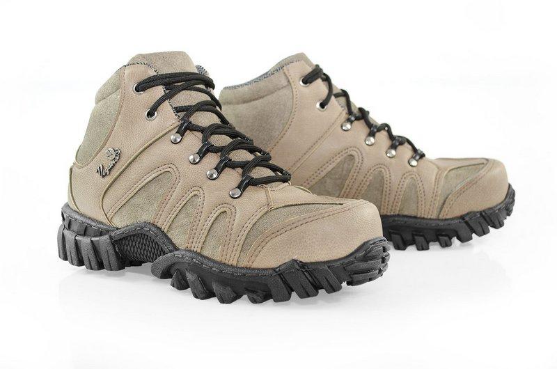 Boot Vegano Shoes Jatobá Cano Alto Areia