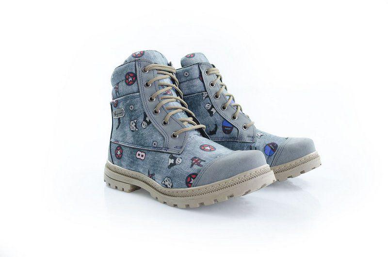 Bota Vegano Shoes Naturale Jeans