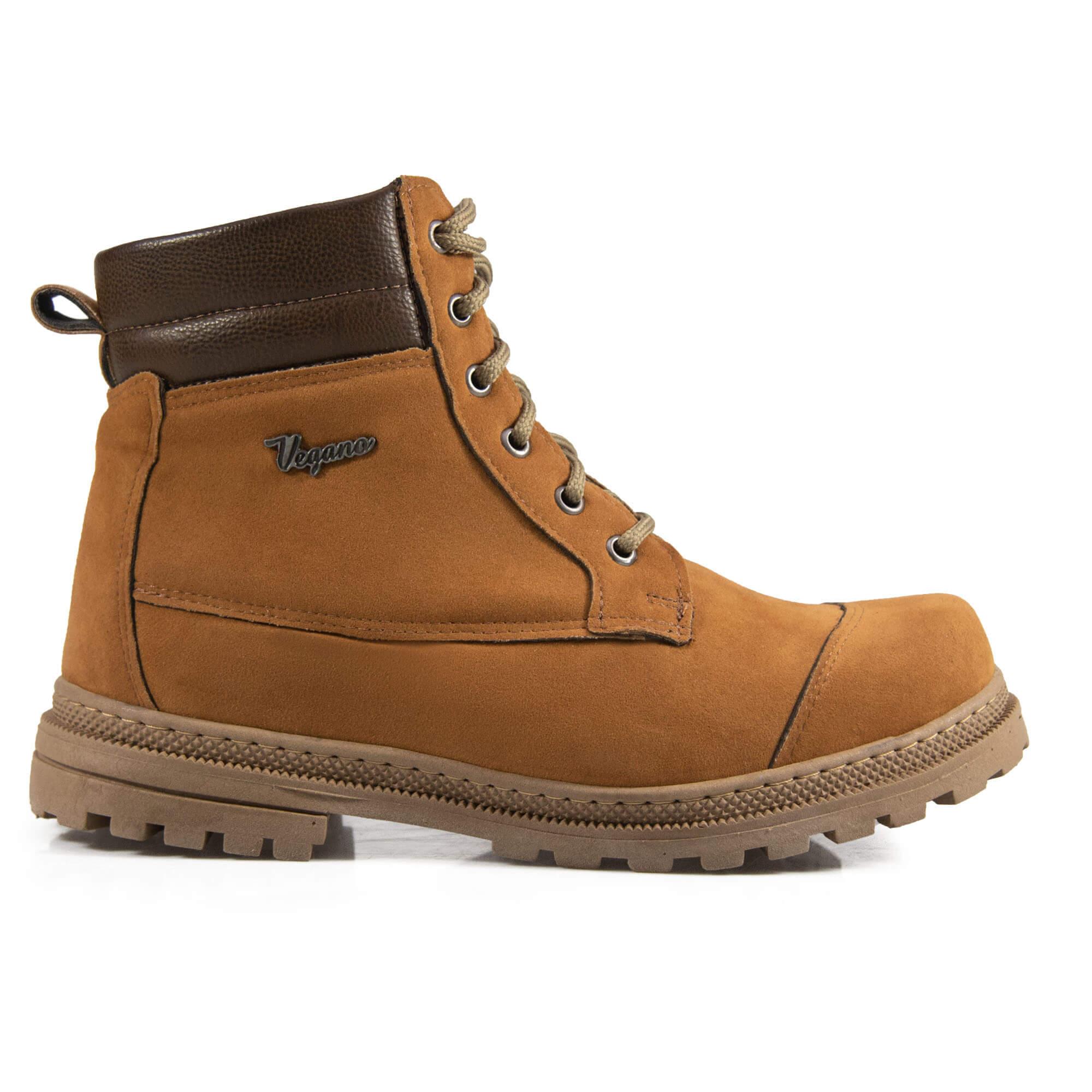 Bota Vegano Shoes Naturale Soft Ocre