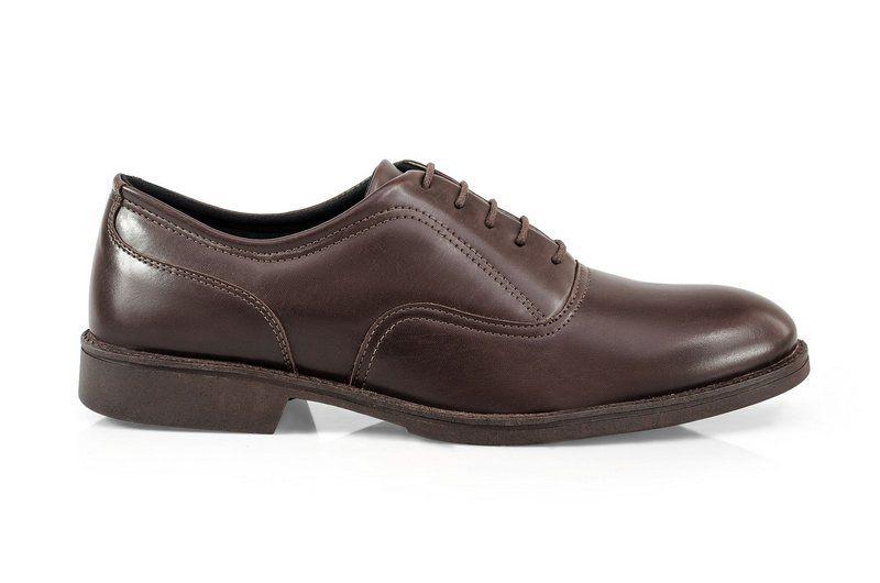 Oxford Vegano Shoes Vegan Elegance - Baru Brown