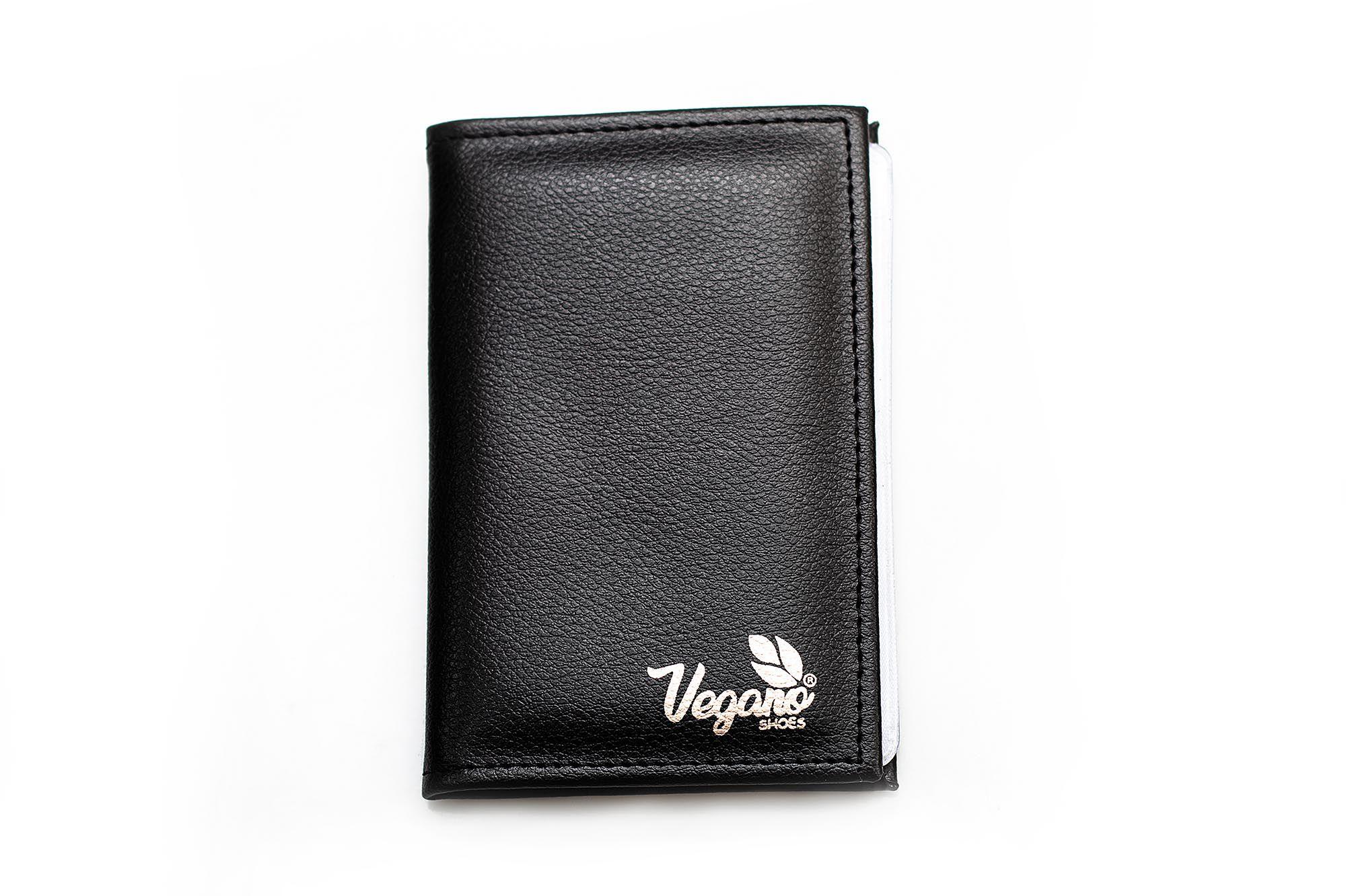 Porta documentos Vegano Shoes lírio Preto